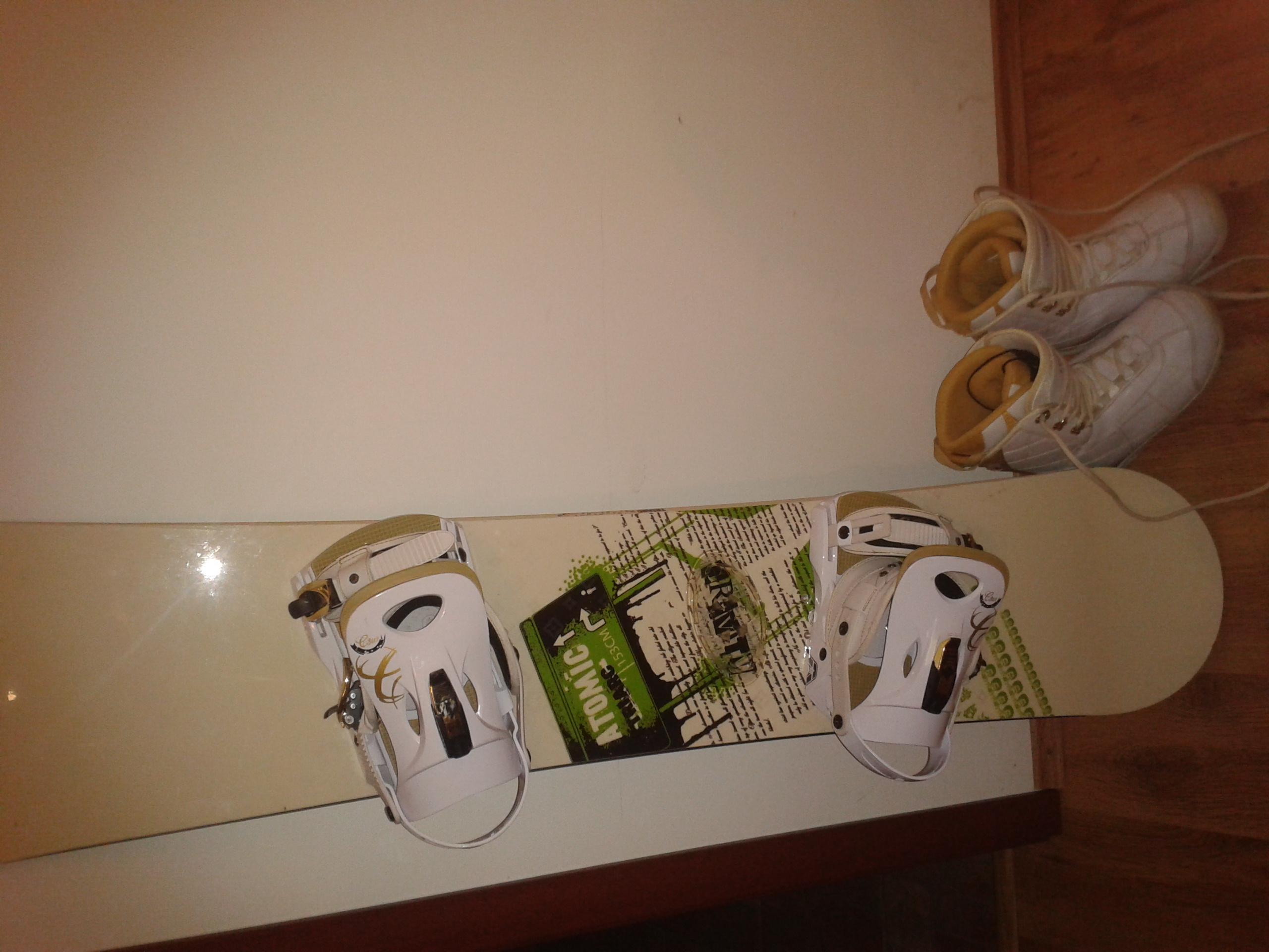 Snowboard+boty+vázání - Bazar - SNOW.CZ d4a013cc87