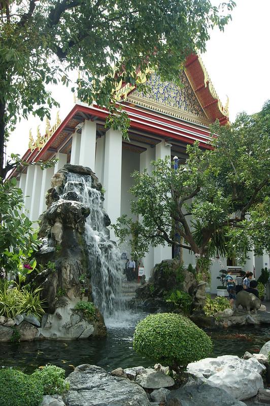 Fuente cascada wat pho, Bangkok
