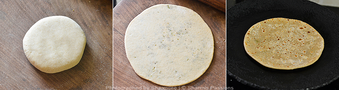 How to make broccoli paratha - Step4