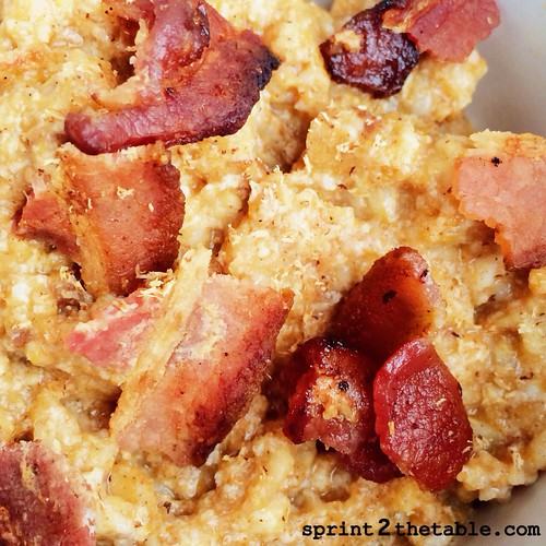 Pumpkin Oats and bacon
