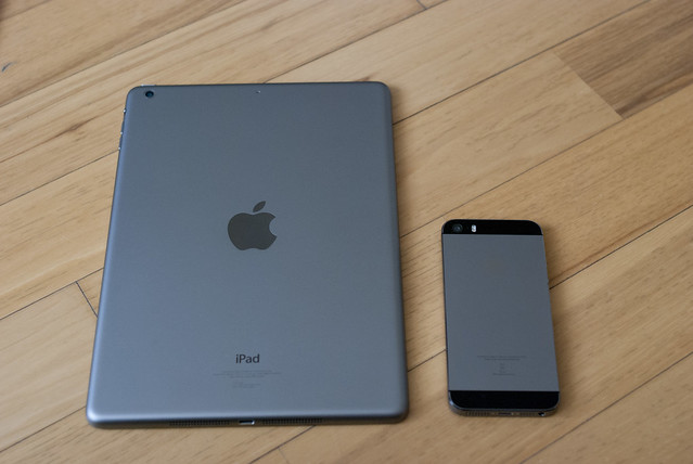 iPad Air & iPhone 5s