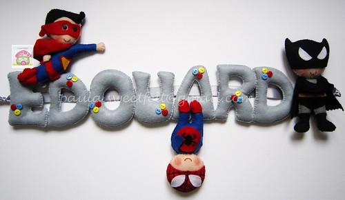 ♥♥♥ Edouard... by sweetfelt \ ideias em feltro