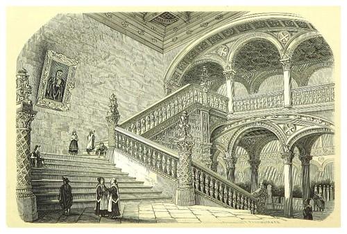 006-Escalera del hospital de Toledo-La Spagna, opera storica, artistica, pittoresca e monumentale..1850-51- British Library