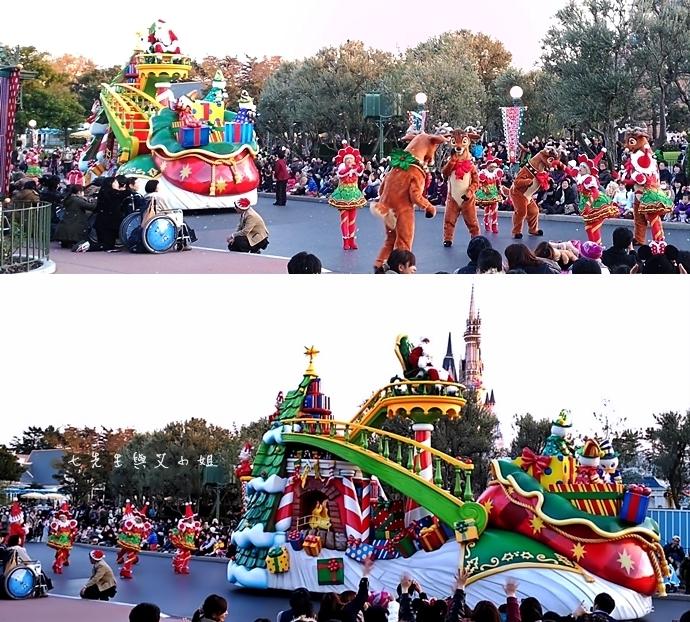 24 迪士尼聖誕村大遊行幸福在這裡夢之光大遊行