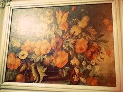 art, flower, leaf, painting, still life, modern art,