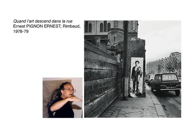 PIGNON ERNEST, Rimbaud, 1978-79