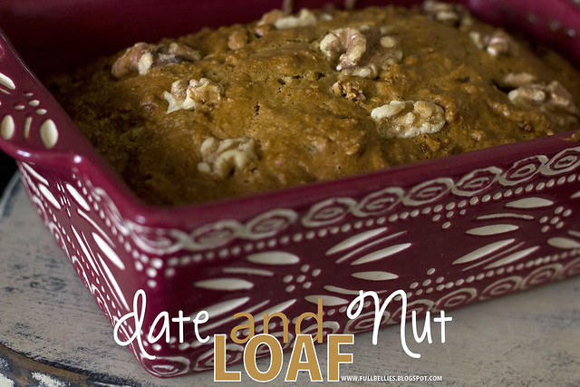Date and Nut Loaf