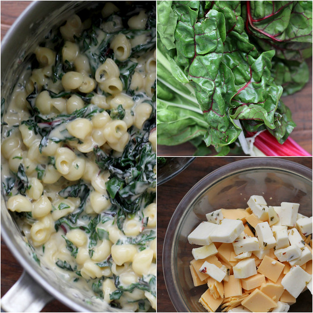 chard mac and cheese