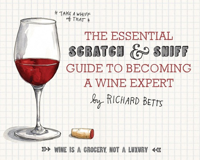 scratch and sniff wine guide cover