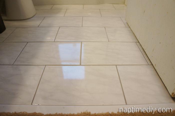 2013 january naptime diy main bath floor tile 10 solutioingenieria Image collections