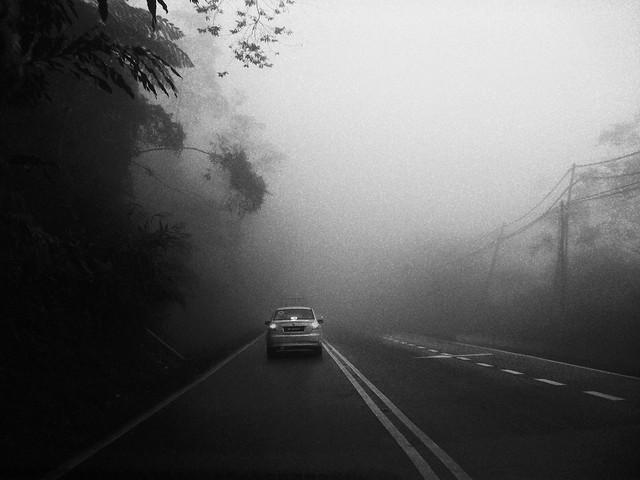 Misty Road, Kundasang