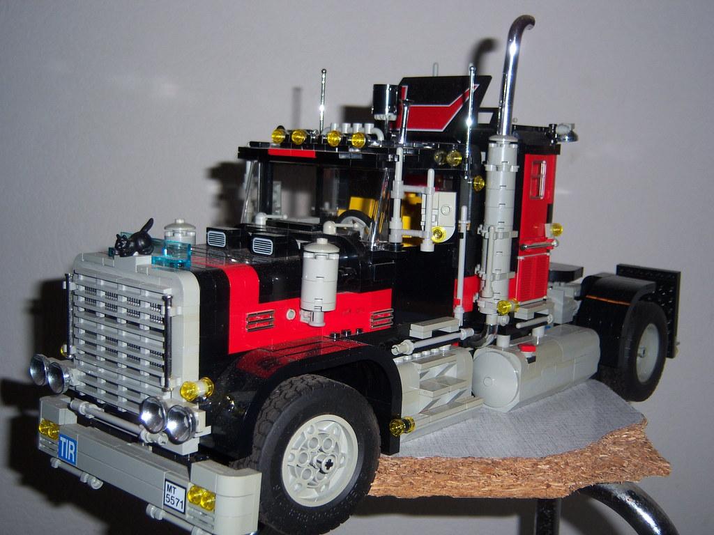 Lego Trucks Black Cat 002 Lego Black Cat Truck Improved Flickr