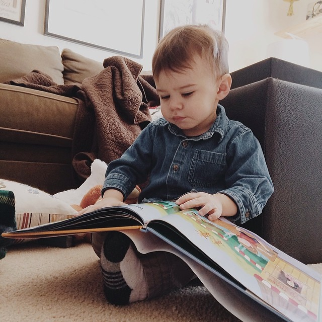 #instaluther #toddler #reading