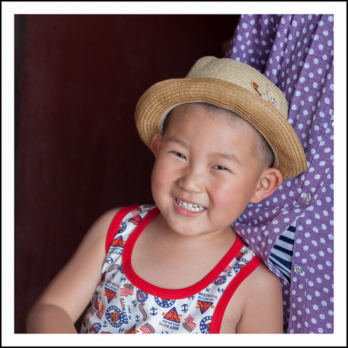 chinese jongen by hans van egdom