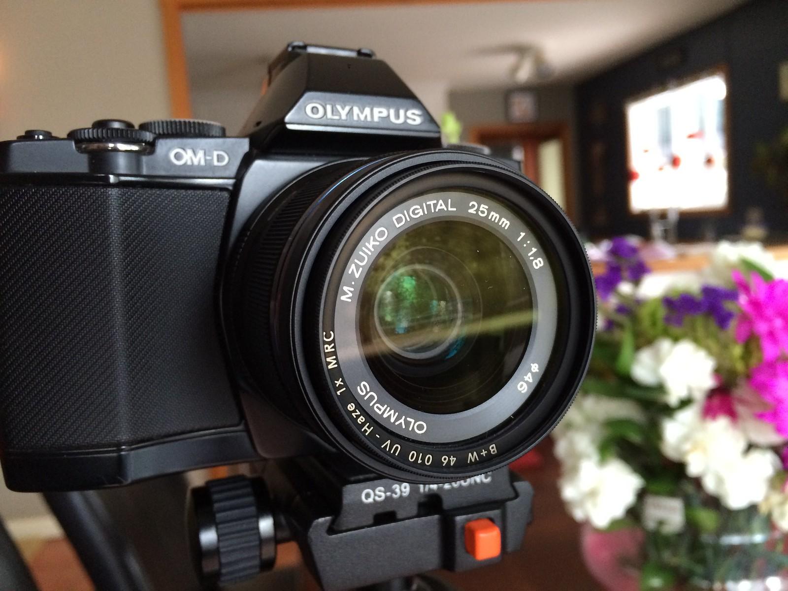 Olympus OM-D E-M5 with Olympus 25mm f1.8 Lens