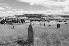 Old burial ground at Ross, Tasmania, Feb 2013