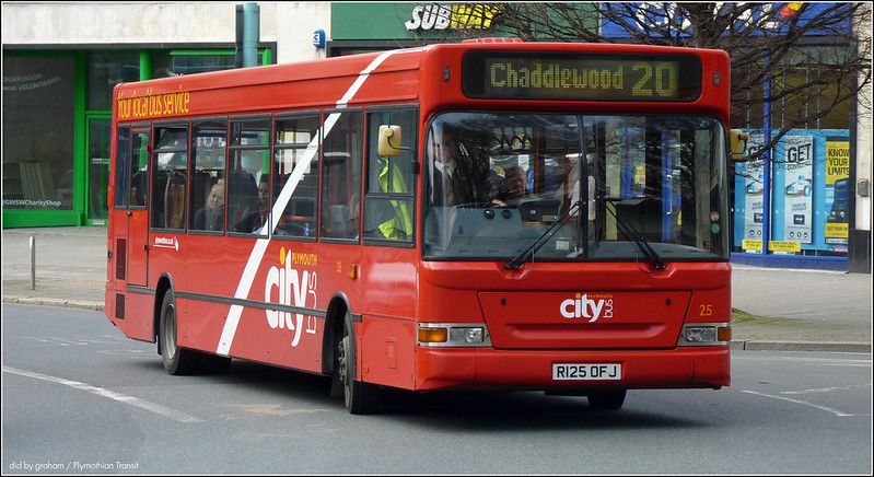 Plymouth Citybus 025