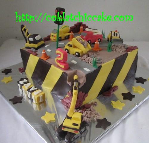 Kue Ulang Tahun Molen Traktor Crane Mesin Giling