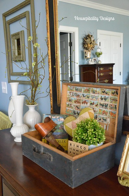 French Wood Box