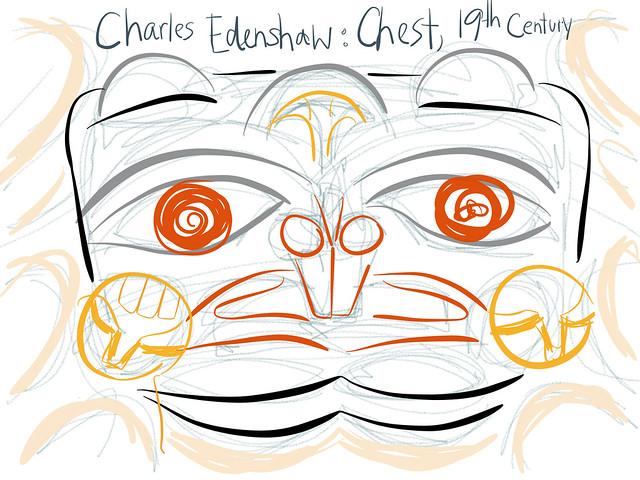 Vancouver Art Gallery: Charles Edenshaw exhibit 6