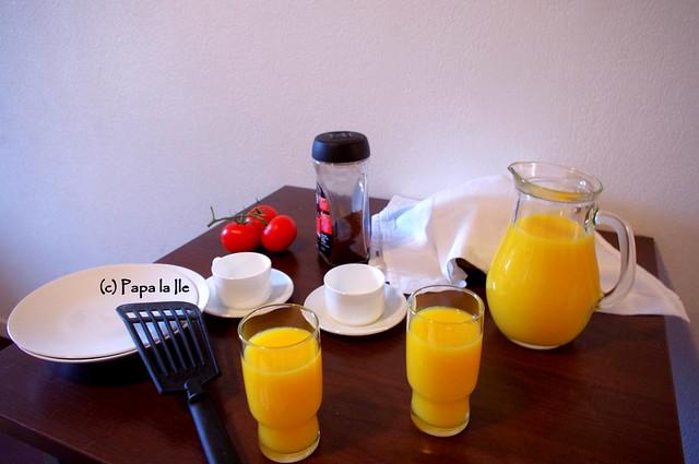 Pancakes cu cascaval si sunca (6)