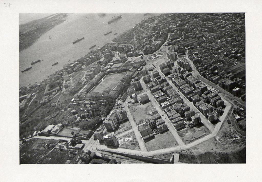 An Aerial View of Taksim Artillery Barracks