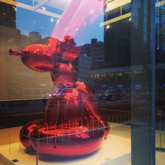 #JeffKoons in the #EastVillage