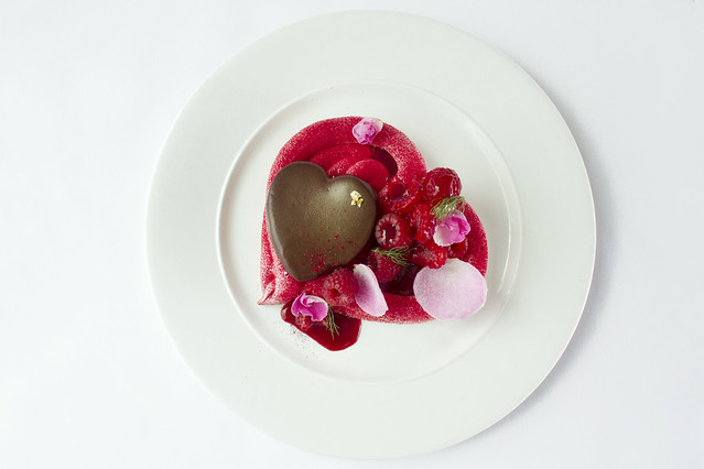Chocolate Heart dessert © ROH Restaurants 2014
