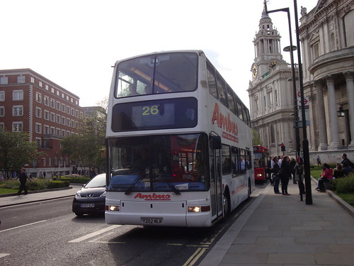 Ambus (Amber-Lee) Y202 NLK on Route 26, St Paul's