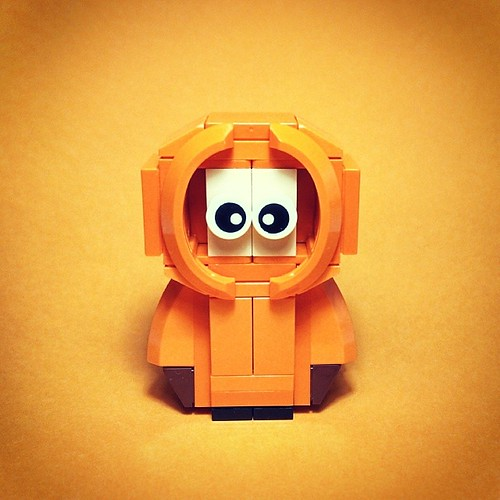 Lego South Park - Kenny!