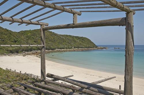 【写真】離島めぐり : 浦田海水浴場
