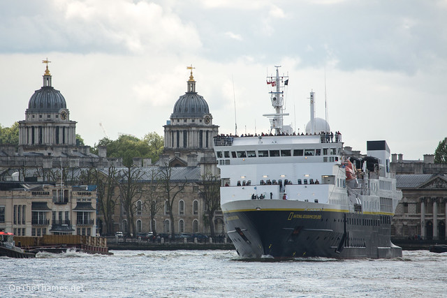 National Geographic Explorer at Greenwich
