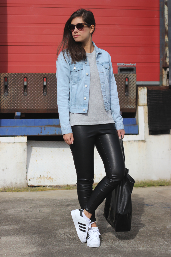 Adidas Superstar, sneakers, trend, outfit
