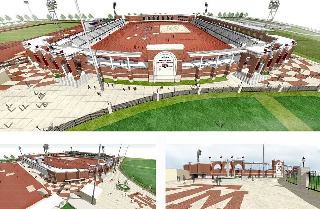Campus Construction A Lot Going On Texags