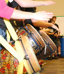 percussion, drummer, drum, hand drum, skin-head percussion instrument,
