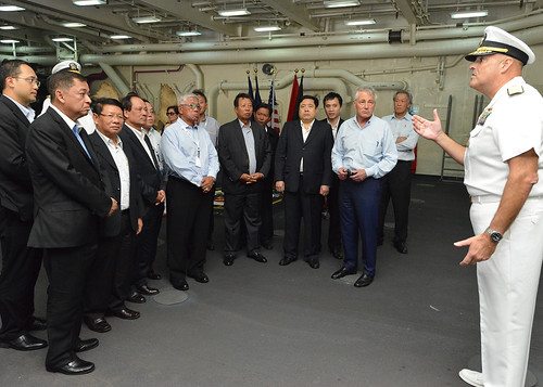 ASEAN, U.S. Leaders Enhance Multilateral Ties Aboard USS Anchorage