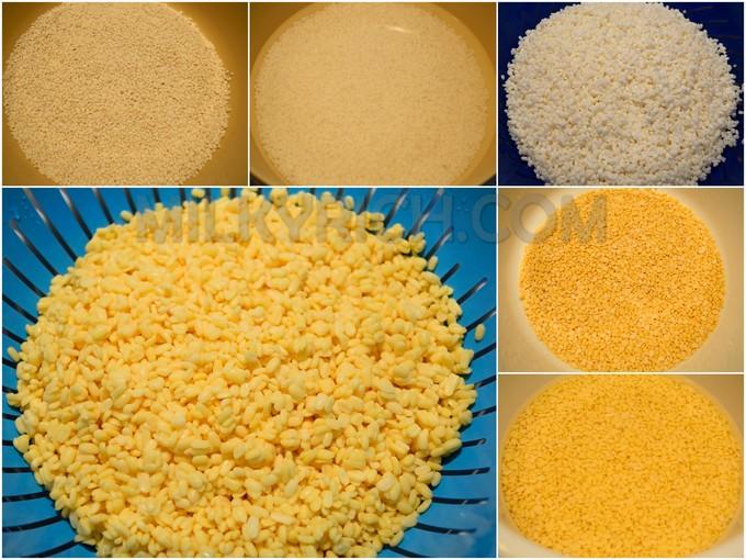 Gạo nếp - đậu xanh - 3