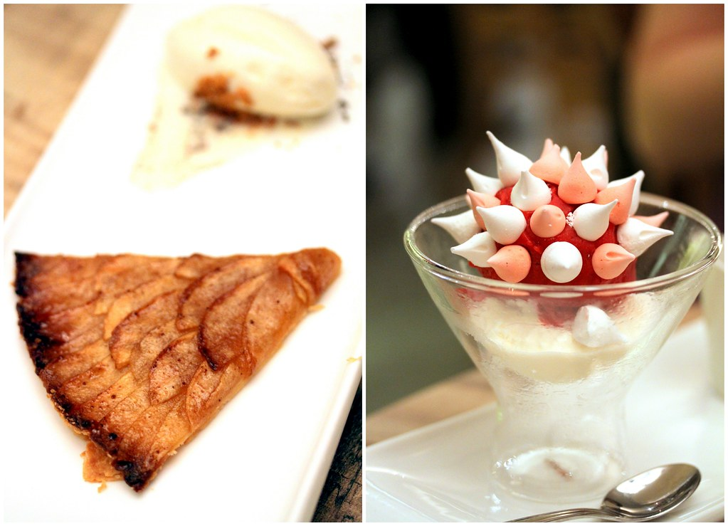 Shelter in the Woods: Apple Tart & Meringue Glacee