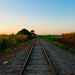 Small photo of Southbound Railroad Near Krome