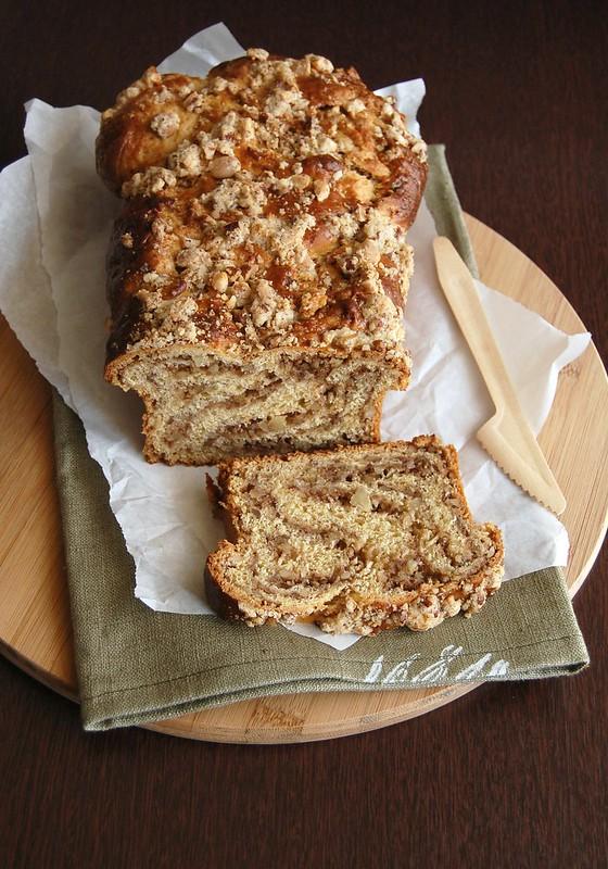 Ginger twist / Pão trançado de gengibre