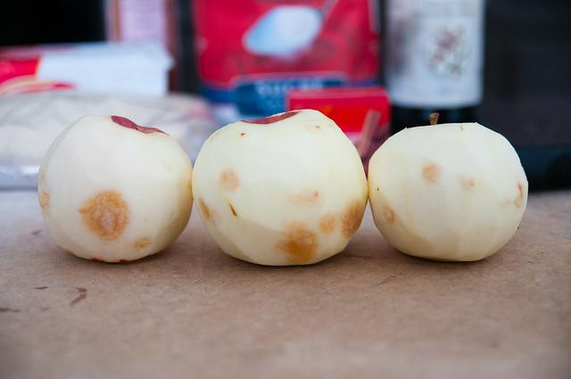 tarte tatin 'un-cinnamon' rolls