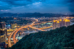 新店夜景 Night View at Shin-Dian