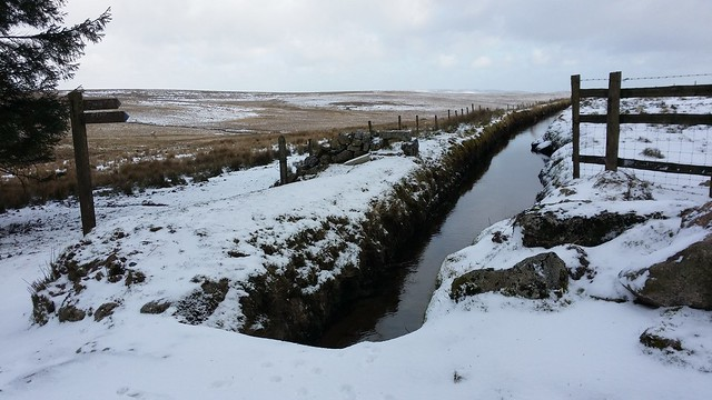 Devonport Leat at Peat Cot