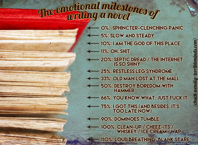 The Emotional Milestones of Writing A Novel: A Handy Guide!