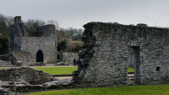 Old Mellifont Abbey dating to the 11th Century AD.