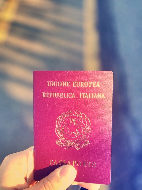 Passport #passport #italy #trip #fly #pic #iphone #verona