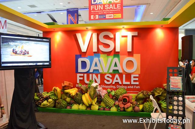 Visit Davao Invite Stand