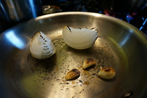 Allia! Broiled onion and garlic