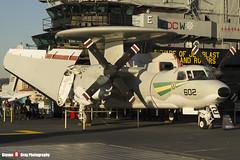 161227 602 - A-67 - US Navy - Grumman E-2C Hawkeye - USS Midway Museum, San Diego, California - 141223 - Steven Gray - IMG_6712