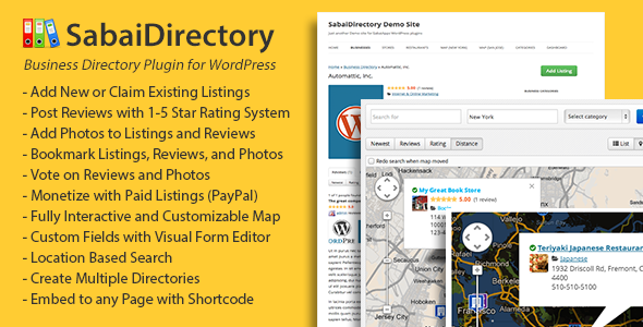 Sabai Directory v1.4.6 for WordPress
